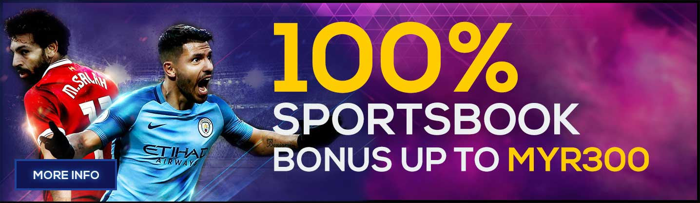 Sportsbook Welcome Bonus 100%